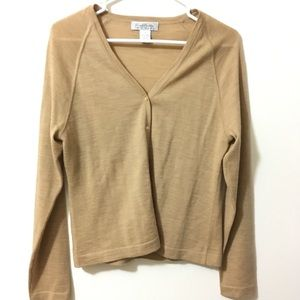 Brooks Brothers Merino Wool Cardigan Sweater